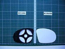 Außenspiegel Spiegelglas Ersatzglas Opel Corsa B C M3 Sport Tuning L o R sph Kpl