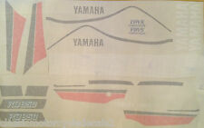 YAMAHA RD350F1  PAINTWORK DECAL SET