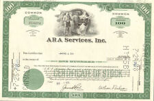 Aramark Corporation stock certificate > ARA Services