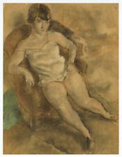 Jules Pascin lithograph