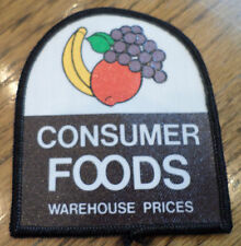 Grocery Consumer Foods Warehouse Prices Vintage Uniform Patch