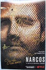 NARCOS SEASON 2 CAST SIGNED 11x17 PHOTO 11x WAGNER MOURA PEDRO PASCAL DC/COA
