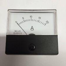 Current Panel Meter 20 Amp Analogue Direct Display 12V 24V DC 20A