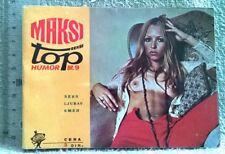 MAXY TOP SEXY HUMOR Magazine 1971 Yugoslavia No 9 sex love laugh