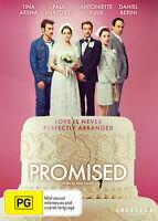 Promised (DVD) Tina Arena. Paul Mercurio. NEW/SEALED