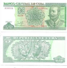 BILLETE DE 5 PESOS 2017