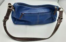 Tig & Co. Genuine Leather Purse in Blue