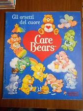 album figurine CARE BEARS gli orsetti del cuore-ed. panini1986-con 183 figur.
