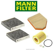 NEW BMW F25 X3 xDrive28i Engine Oil Cabin Air and Air Filters Kit Mann