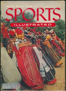 Sports Illustrated Second Edition August 23, 1954 w/ Cards *M138