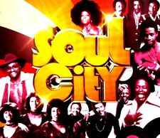 SOUL CITY CD - 3 X CDS 60S 70S 80S SOUL DISCO FUNK PARTY MOTOWN CLASSICS CDJ DJ