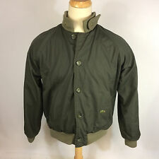 Rare 70s 80s Vintage Lacoste Reversible Green Jacket Sweater Lined Button Coat