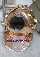 German Marine Anchor Diving Helmet-Karl Heinke Diving Divers Sea Scuba Helmet
