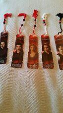 Twilight Saga - Eclipse 5 set bookmarks/Bella/Emmett/Rosalie/Jasper/Alice/New
