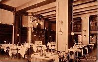 Stockton CA Grill Hotel Stockton Postcard unused 1900s/10s