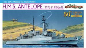 Dragon Plastic Model Kits #7122 1/700 H.M.S. Antelope Type 21 Frigate