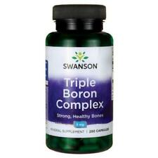 Swanson Premium Triple Boron Complex 3mg, 250 Capsules Bone Health.