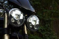 Paire X 2, 3 Pistons,Triumph - Speed/Street Triple, T509, 955, Rocket, LED phare