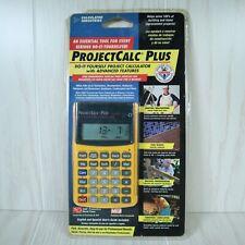 Calculated Industries Projectcalc Plus Diy Project Calculator Model 8525