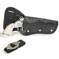 Stagecoach Cap Gun Pistol And Holster Set New Parris Manufacturing Free Shipping