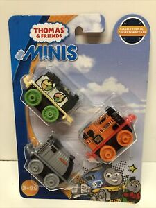 Thomas the Train Minis 3 pack 2019 Sushi Hiro Nia Spencer #30