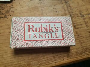 Rubik's Tangle 2 Vintage Card Puzzle Game Boxed Skill Strategy Pocket Sized