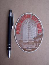 Luggage Label vintage  Hotel Advertising  - Not a reprint - Ephemera