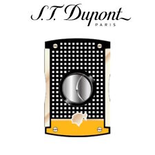 NEW ST Dupont Cohiba Collection - MaxiJet Cigar Cutter - Black & Yellow  003510