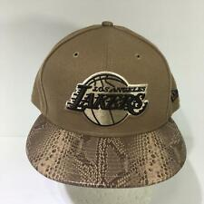 NBA Los Angeles Lakers New Era 59Fifty Snakeskin Fitted Size 7 1/2 Cap Hat NWOT