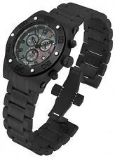 New Men's Invicta 15769 Speedway Reserve Swiss Chronograph Black MOP Dial Watch