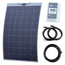 250W Flexible Solar Charging Kit for Motorhome, Caravan, Boat, Yacht or Marine
