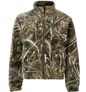 Drake Waterfowl MST Layering Fleece Full Zip Jacket Windproof & Water Resistant