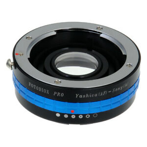 Fotodiox PRO Lens Adapter Yashica AF (KYOCERA) Lens to Sony A-Mount (MAF) Camera