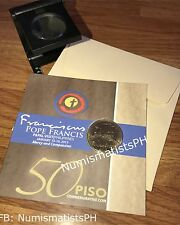 50 Piso Pope Francis Papal Commemorative Coin