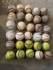 30 Used Baseballs Please See Pictures