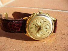 Orologio cronografo RECORD (LONGINES) crono 3 contatori  VENUS 178 ruota colonne