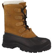 Kamik Alborg Men Herren Winterstiefel Boots Schuhe Schnür Stiefel tan WK0011-TAN