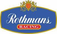 Motorsport Sponsor Car Motorbike Exterior Vinyl Sticker Rothmans Racing Decal GP