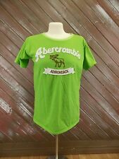 Abercrombie & Fitch Adirondack Graphic Tee Pull Over Short Sleeve Men's Size L