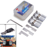 2x Universal Car Key Cutting Clamp Tool For Special Car House Lock Key Blades