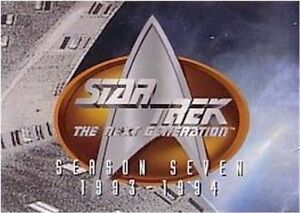 Star Trek THE NEXT GENERATION SEASON 7  SEASON SEVEN  BASE / BASIC SET 103 CARDS