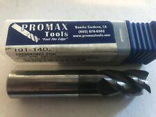 LOT 4 7//64x1//8x3//16x1-1//2 4 Flute SQUARE TiCN Carbide End Mill NOS USA Tooling
