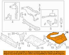 Scion TOYOTA OEM FR-S Splash Shield-Under Engine / Radiator Cover SU00304761