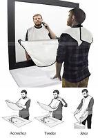 tablier de rasage barbe cape barbier - Male beard apron shaving care clean PRO !