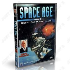 Space Age Vol 1 : Quest For Planet Mars : Universe Documentary : NEW DVD