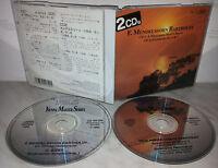 2 CD BARTHOLDY - A MIDSUMMER NIGHT'S DREAM - SYMPHONY NO 4 - 5 - JAPAN