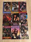 Xena Warrior Princess RARE Comic Book LOT of 9 w/ Fan Club BOX