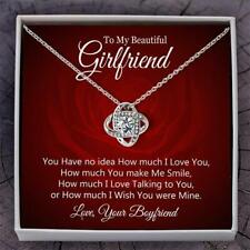 To My Beautiful Girlfriend Necklace - A Special Meaningful Gift From Boyfriend