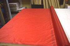 """2NDS FABRIC RED 1.35 OZ NYLON RIPSTOP 30D FABRIC 65"""" WIDE BY THE YD"""
