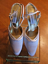 NWOB Women's Carriage Court White (dyeable) Satin Heels Size 8.5M